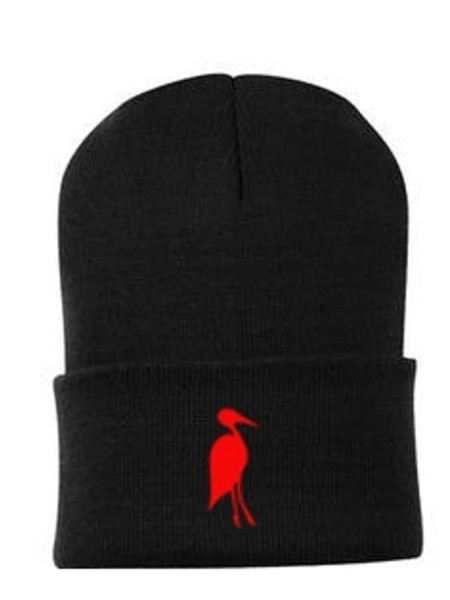 Sixteen Seventy Beanie Black Red
