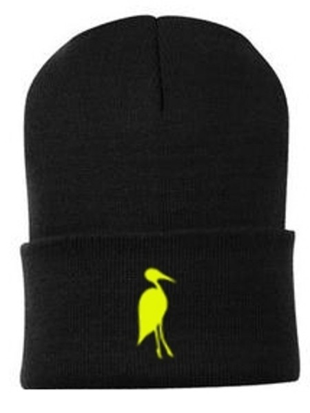 Copy of Sixteen Seventy Beanie Black Yellow