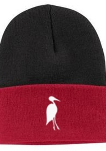 Sixteen Seventy Beanie Black Red White