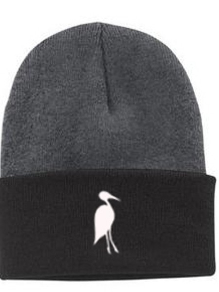 Sixteen Seventy Beanie Grey Black White