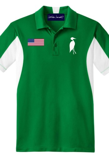 Sixteen Seventy Golf Polo Greenwhite