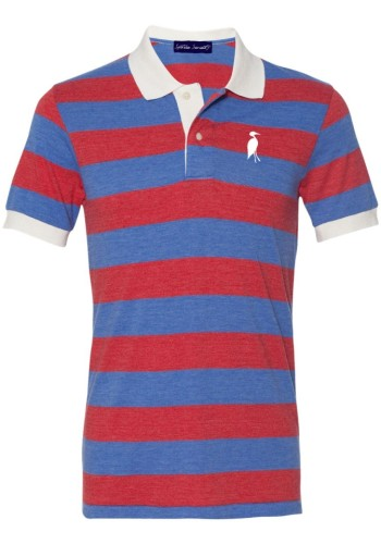 Sixteen Seventy Golf Polo Redblue
