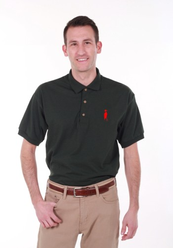 Sixteen Seventy Green Red Polo