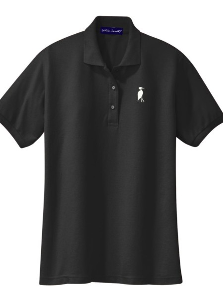 Sixteen Seventy Ladies Black White Polo