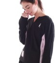 Sixteen Seventy Ladies Lounge Fleece Black