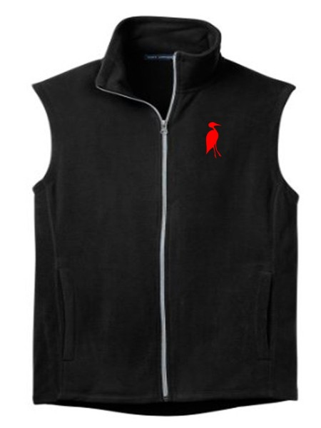 Sixteen Seventy Ladies Outdoor Vest Black Red