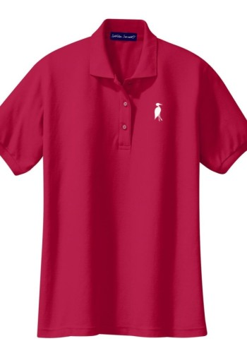 Sixteen Seventy Ladies Red White Polo