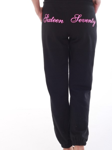 Sixteen Seventy Ladies Signature Sweat Pants Black