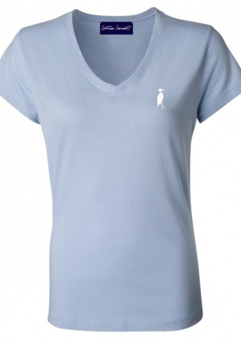 Sixteen Seventy Ladies Sky Blue Vneck