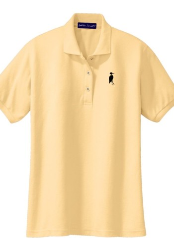 Sixteen Seventy Ladies Yellow Black Polo