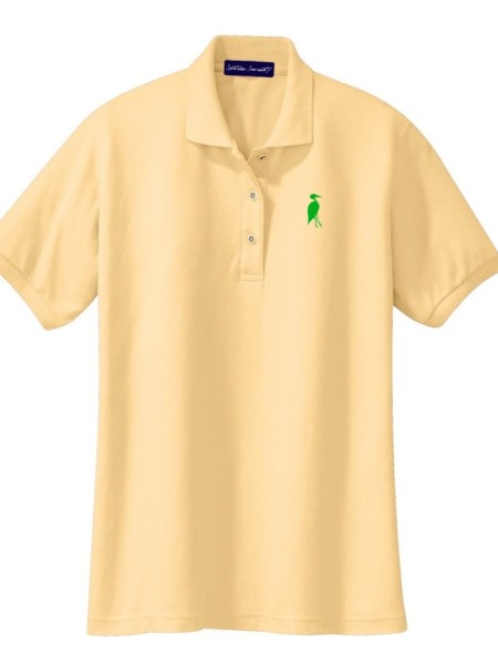 Sixteen Seventy Ladies Yellow Green Polo