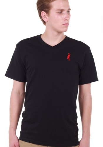 Sixteen Seventy Men's Black V-neck