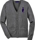 Sixteen Seventy Men's Cardigan Grey Navy