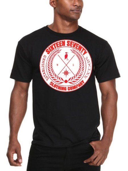 Sixteen Seventy Men's Compass T-shirt