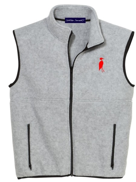 Sixteen Seventy Men's Outdoor Vest Grey Red