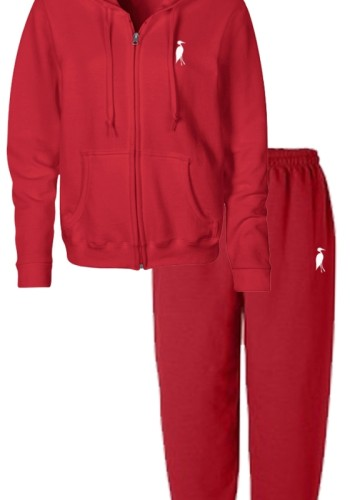Sixteen Seventy Men's Red Sweat Suit