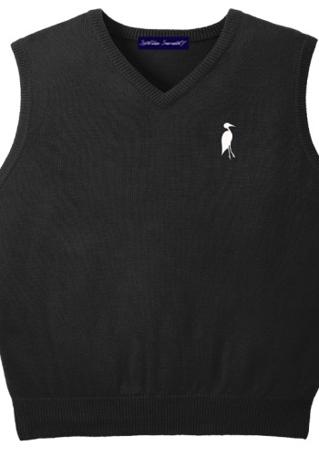Sixteen Seventy Men's Sleeveless Vest Black White