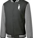 Sixteen Seventy Men's Varsity Jacket Hunter Grey Grey