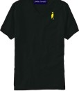 Sixteen Seventy Men's V-neck Black Yellow