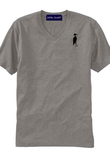 Sixteen Seventy Men's V-neck Grey