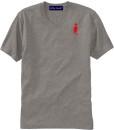 Sixteen Seventy Men's V-neck Grey Red