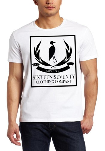Sixteen Seventy Men's White Classic Epic T-shirt