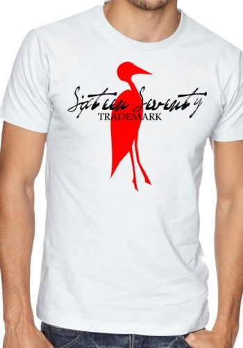 Sixteen Seventy Men's White Trademark T-shirt