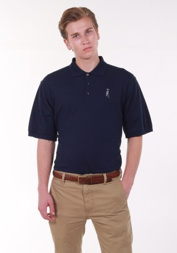 Sixteen Seventy Navy Grey Polo