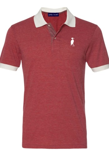 Sixteen Seventy Striped Mesh Men's Polored