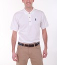 Sixteen Seventy White Navy Polo2