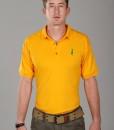Sixteen Seventy Yellow Green Polo