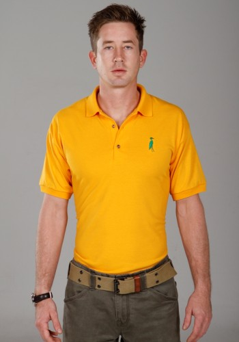 Sixteen Seventy Yellow Green Polo