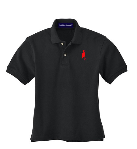 Sixteen Seventy Youth Polo BlackRed