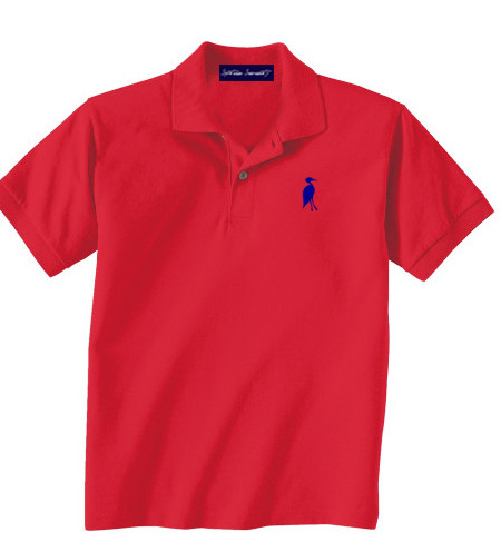 Sixteen Seventy Youth redbluepolo