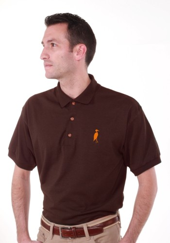 Sixteen Seventy Brown Orange Polo