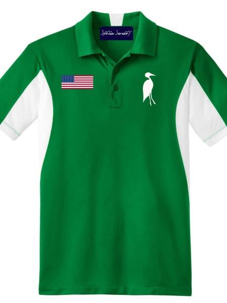 Sixteen Seventy Golf Polo Greenwhite