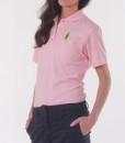 Sixteen Seventy Ladies Pink Green Polo