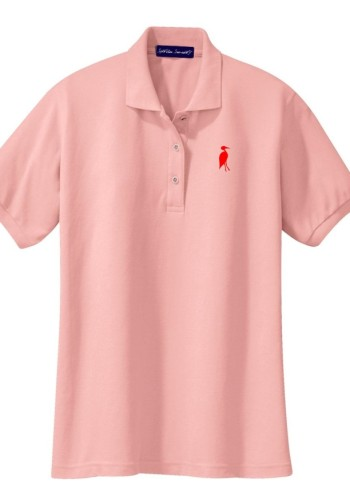 Sixteen Seventy Ladies Pink Red Polo