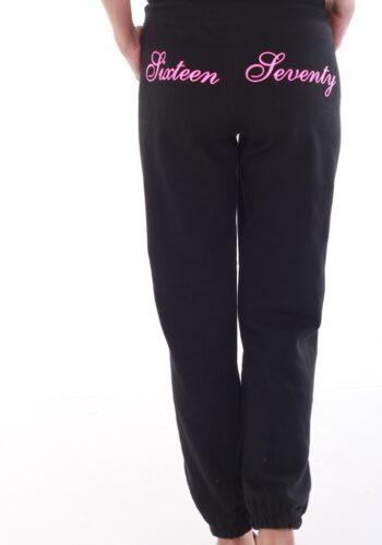 Sixteen Seventy Ladies Signature Sweat Pants Black