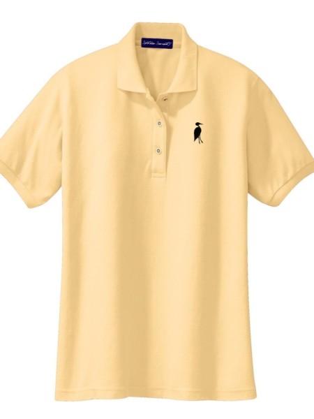 Sixteen Seventy Ladies Yellow Black Polo