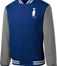 Sixteen Seventy Men's Varsity Jacket Royal Grey