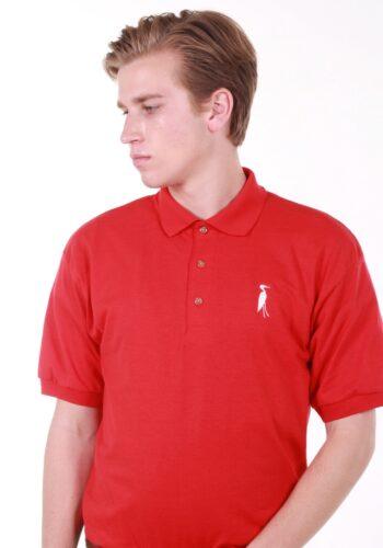 Sixteen Seventy Red White Polo