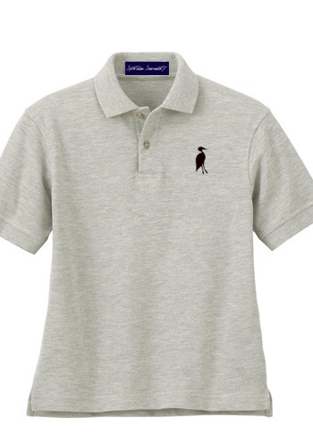 Sixteen Seventy Youth  Grey Black Polo