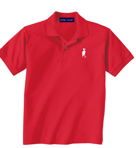 Sixteen Seventy Youth  Red White Polo