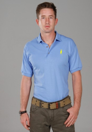 Sixteen Seventy skyblue yellow Polo